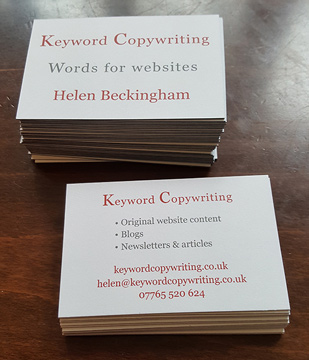 The logo is transporting Helens talent – Keyword Copywriting. The business card was designed on a basis of simplicity. Design focuses on minimal, straight forward design and readability. The colours where choosen on a pallet of greys and reds. They resemble the colours of the website to keep the corporate identity.